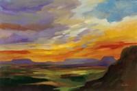 Sonoran Desert Sunset Framed Print