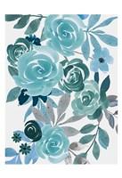 Floral Growth 1 Framed Print