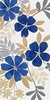 Floral Neutral Bunch 2 Framed Print
