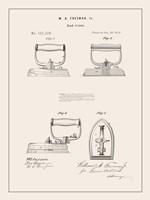 Laundry Patent I Framed Print