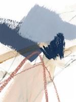 Blue Shuffle I Framed Print