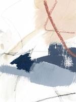 Blue Shuffle II Framed Print