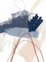 Blue Shuffle III Framed Print