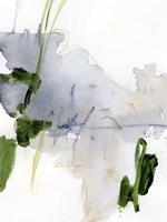 Green and Grey I Framed Print