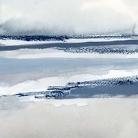 Beach Stripes II Framed Print