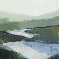 Riverbend Landscape II Fine Art Print