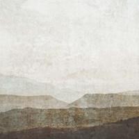 Burnished Mountains II Framed Print