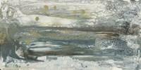 Teal Seascape II Framed Print