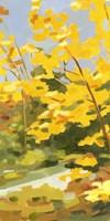 Autumn Hike I Framed Print