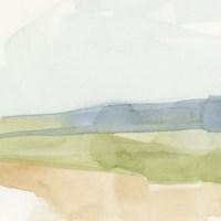 Pastel Slopes I Fine Art Print