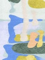 Rorschach Rainbow II Framed Print