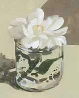 Neutral Bloom I Framed Print
