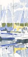 Sailboat Reflections II Framed Print