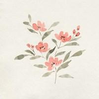 Sweet Florals I Framed Print
