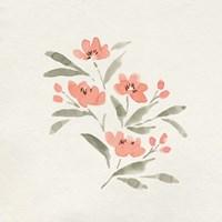 Sweet Florals II Framed Print