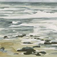 Low Tide II Framed Print