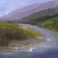 Mountain River I Framed Print