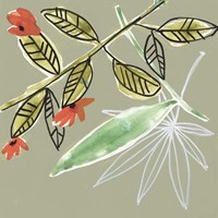 Tropic Botanicals VIII Framed Print