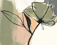Floral Synergy V Framed Print