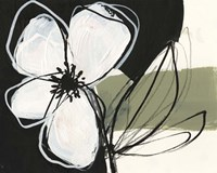 Floral Synergy VI Framed Print