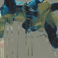 Deconstructed Blues II Framed Print