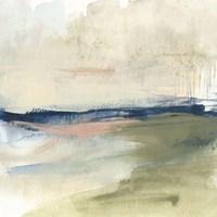 Coastline Vignette I Framed Print