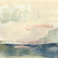 Coastline Vignette II Framed Print