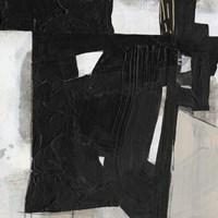 Deconstructed Ebony IV Framed Print