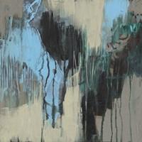 Ocean Blue Abstract II Framed Print