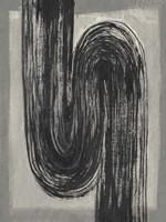 Grey Linear Path II Fine Art Print
