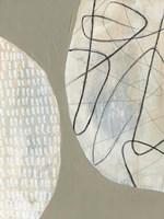 Orb Patterns I Framed Print