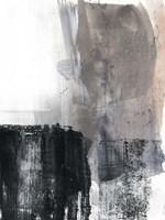 Ebonized I Framed Print
