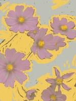 Pop Art Floral II Framed Print