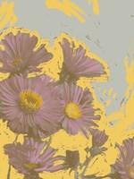 Pop Art Floral V Framed Print