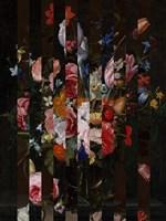Masked Flemish Bouquet I Framed Print