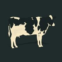 Refined Holstein II Framed Print