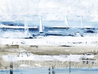 Sea Gaze I Framed Print