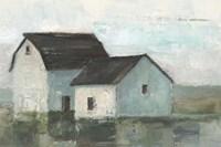 Barn at Sunset II Framed Print