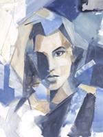 Cubist Glamour II Framed Print