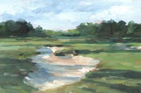 Golf Course Study I Framed Print