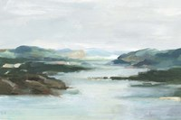 Misty Cove I Framed Print
