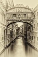 Vintage Venice I Framed Print