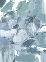 Soft Teal II Framed Print