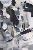 Black & White Mix IV Framed Print