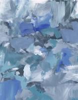 Deep Blue Hue II Framed Print