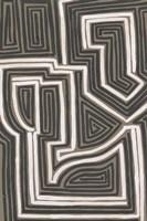 Abstract Maze I Framed Print