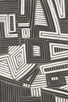 Abstract Maze II Framed Print