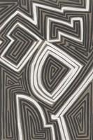 Abstract Maze III Framed Print