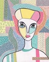 Pattern Lady II Framed Print