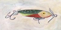 Retro Fishing Lure III Fine Art Print
